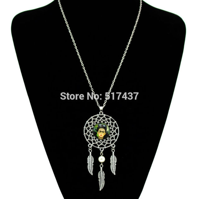 Dragonball Z Silver Dream Catcher Necklace