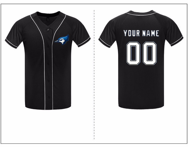 76d1fbea Accept Design Logo Baseball Shirt Short Sleeve Men's Shirts 2017 Summer  Baseball Style Hip Hop Jersey Custom Black Shirt Jerseys
