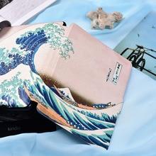 Kandouren-Gran Onda Caso de La Cubierta para Paperwhite Kindle o Kindle voyage, caso elegante con auto del sueño y despertar función