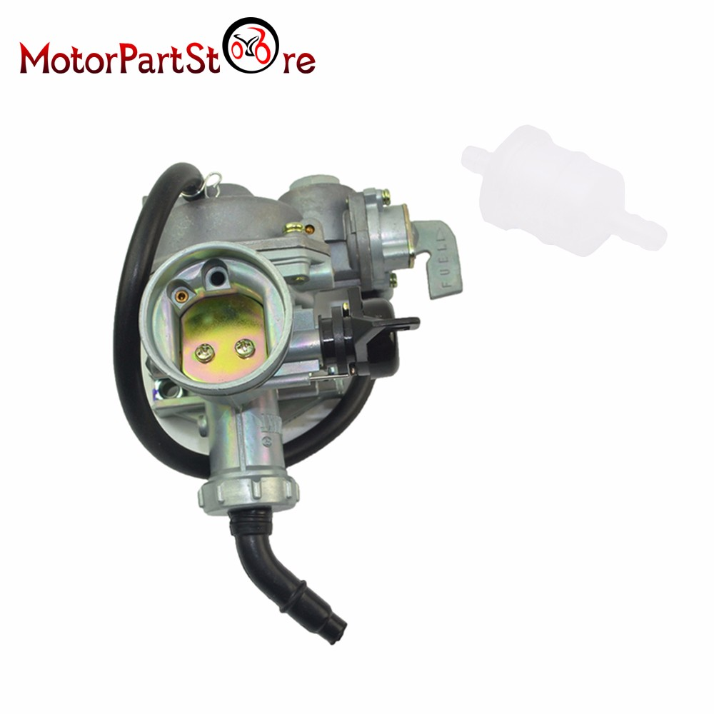 hight resolution of carburetor with fuel filter for honda fourtrax trx125 trx 125 atv carb 1985 1986 motorcycle dirt bike engine part d15 in carburetor from automobiles