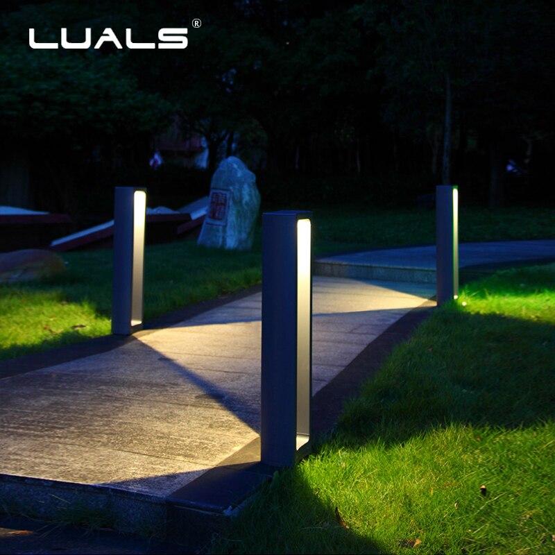 Illuminazione Giardino esterno Lampada Prato LED di Paesaggio Della Luce In Alluminio Corpo di Luce Lampade A Led Impermeabile di Lusso Giardino Illuminazione di Paesaggio