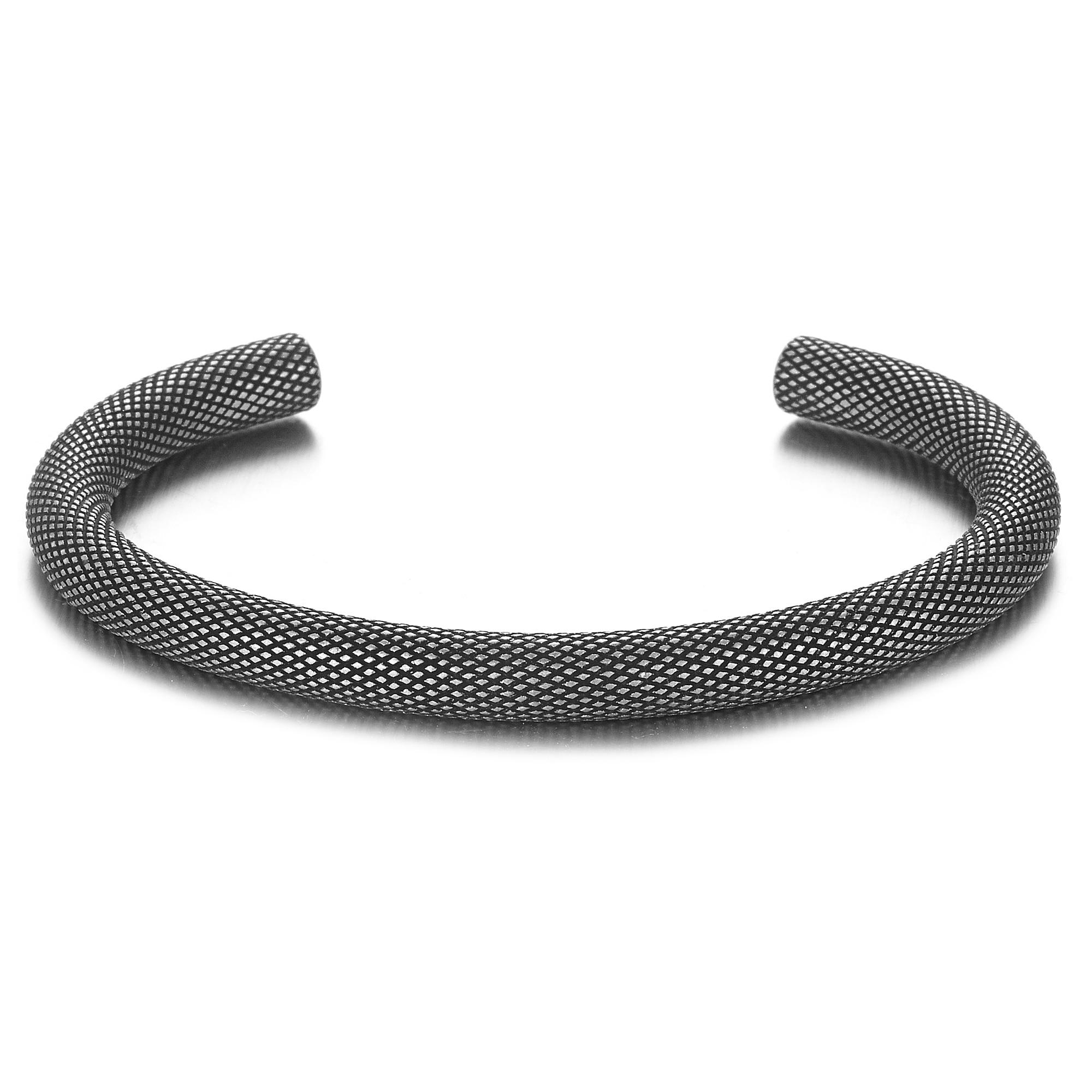 Bracelet Rétro titane acier Viking  1