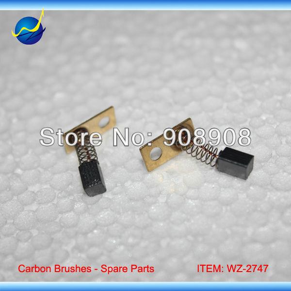 """10 vnt 3mm * 3mm * 5mm angliniai šepetėliai """"Strong 204/90"""" elektrinių šepetėlių mikromotorui 102L, 102, 106, 103L, 105, rankinio įrankio komponentai"""