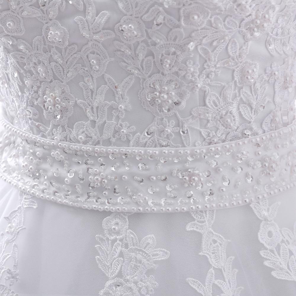 2017 new Vestido de noiva Long Sleeves Wedding Dresses Sexy Back Bride Dresses Wedding Gowns Princess Casamento Robe de Mariage 6