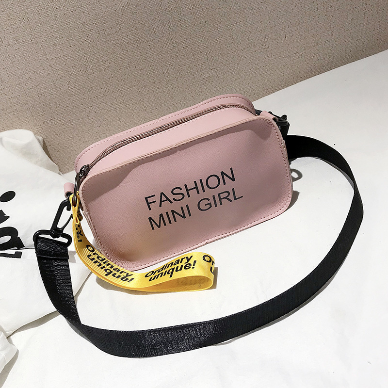 Womens Waist Bag Fanny Pack Casual Waterproof Letter Square Small Purse Phone Key Chest Handbag PU Leather Belt Bag Waist Bags