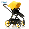 Baby Stroller high landscape song baby car baby cart children can sit and lie four wheel folding portable