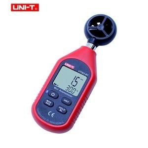 Image 3 - UNI T UT363BT Wind Meter Digitale Bluetooth Zakformaat Anemometer Meting Thermometer Mini Wind Meter Anemometer