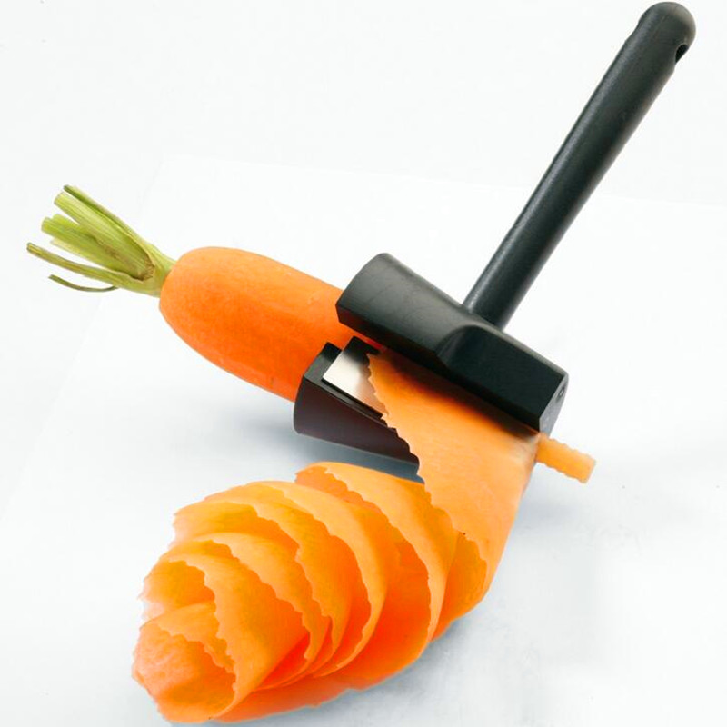 Free shipping Fruits and vegetables roll of floral organ Spiral cone of cut flowers Creative kitchen gadgets