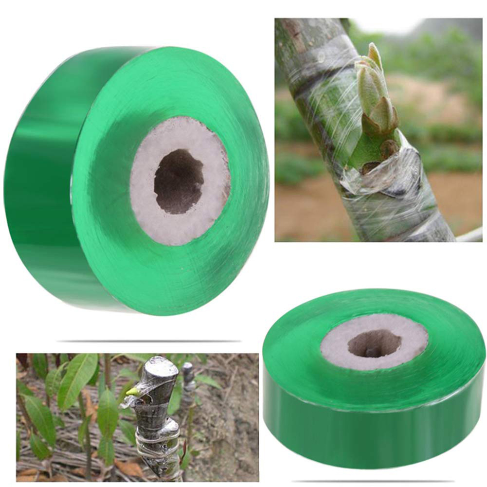 1 Roll 2CM X 100M Grafting Tape Garden Tools Fruit Tree Secateurs Engraft Branch Gardening Bind Belt PVC Tie Tape