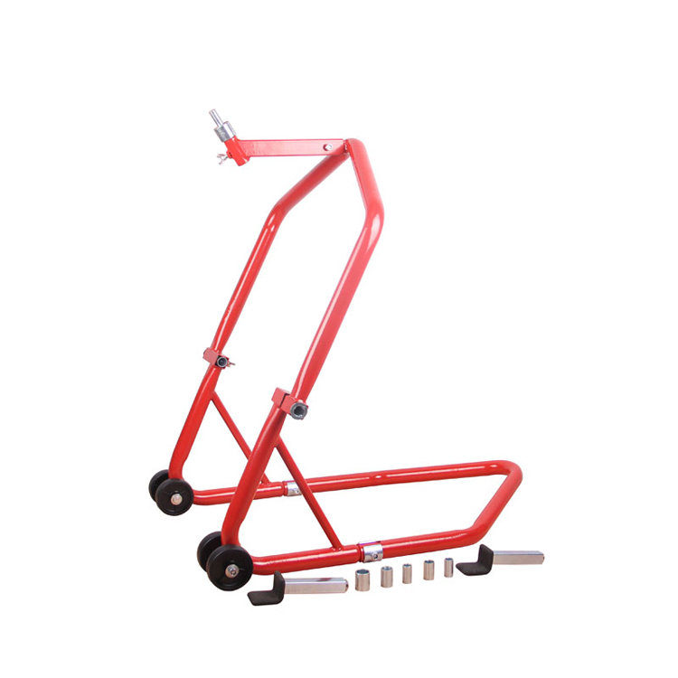 MOTORCYCLE CENTER RACE STAND stands headlift Strong TRIPLE TREE FRONT Head Wheel Lift