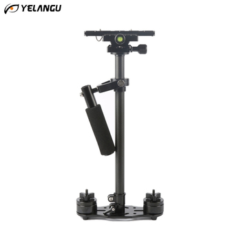 YELANGU Professional Carbon Fiber Handheld Stabilizer for Camcorder Digital Camera Video Canon Nikon Sony DSLR Mini Steadycam