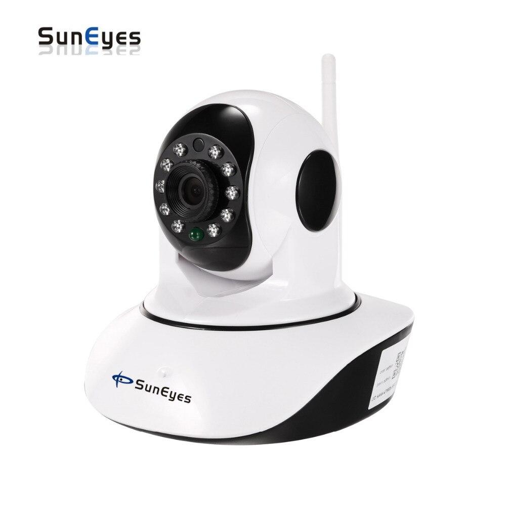SunEyes SP-V710W/V1810W Pan/Tilt Sans Fil Wifi HD Caméra IP avec 720 P/1080 P et Température et Capteur D'humidité En Option