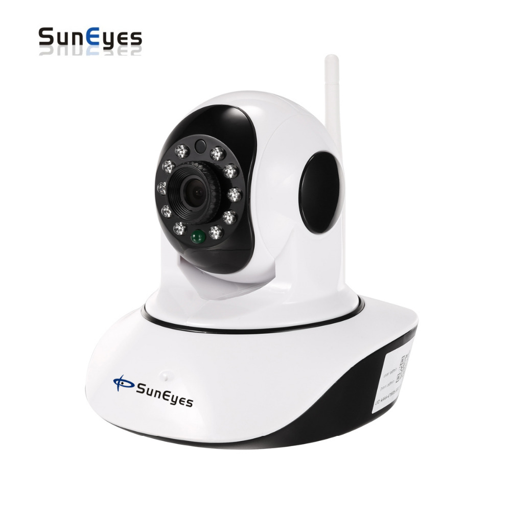 SunEyes SP V710W/V1810W Pan/Tilt Wireless Wifi HD IP Camera with 720P /1080P and Temperature and Humidity Sensor Optional