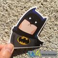 [Crooked Neck Batman] Car Styling Waterproof Graffiti Doodle PVC Sticker Hellaflush Bicycle Laptop Skatboard Luggage Decals