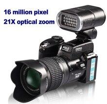 D3200 cámara digital de 16 millones de píxeles de cámara digital RÉFLEX Profesional 21X cámara de ALTA DEFINICIÓN con zoom óptico además de faros LED