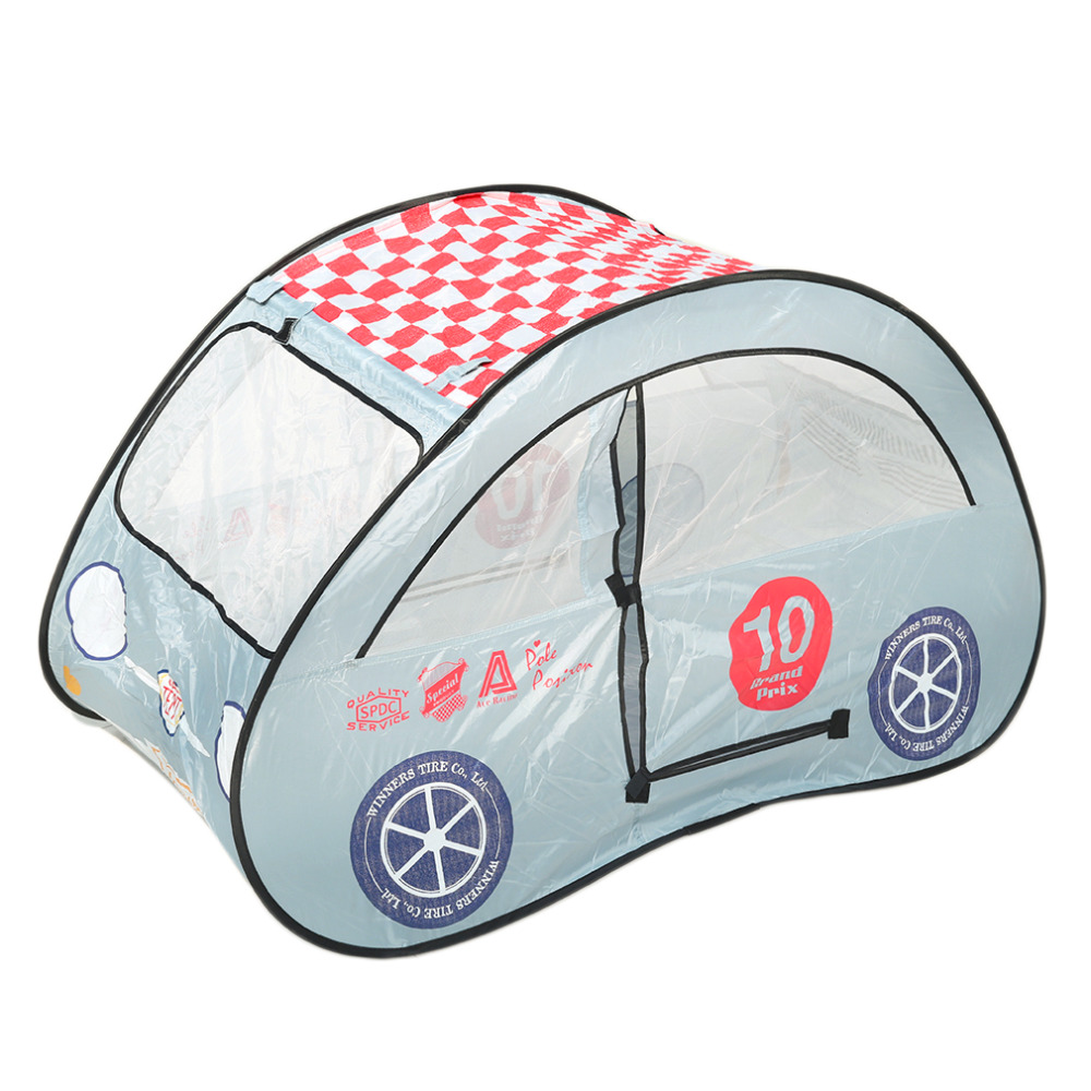 dazzling toys kids pop up car play tent game hut easy twist fold to store free shipping