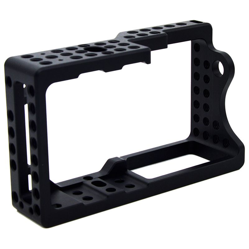 Video Camera Cage Stabilizer Protector for BMPCC Camera to Mount Microphone Monitor Tripod LED Light
