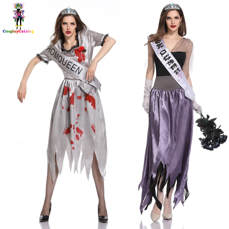 Halloween Adult Women Scary Zombie Cosplay Beauty Pageant ...