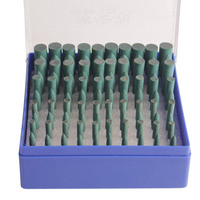 100 Pcs Box Assorted Ceramic Mounted Point Grinding Stone Head Wheel Dremel Accessories Drill Rotary Tools