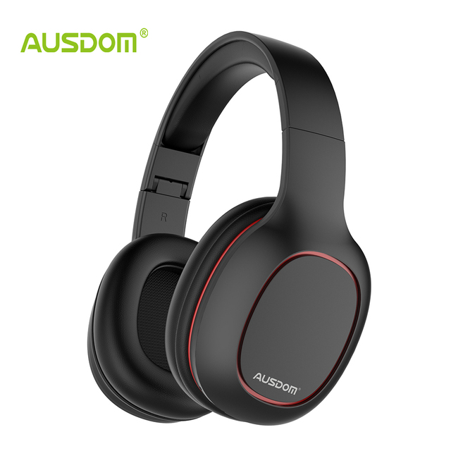 Ausdom M09 Bluetooth Cuffia Over-Ear Wired Cuffie Senza Fili Pieghevole  Bluetooth 4.2 Stereo Auricolare a377ba6aa295