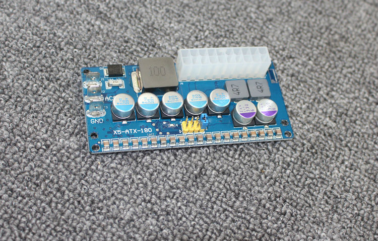 Image 2 - 180w 6v 24v input Intelligent Automotive DC DC Car PC Power Supply (ITPS DC ATX) 12v dc-in Integrated Circuits from Electronic Components & Supplies