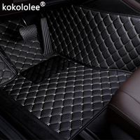 Car Floor Mats For MINI Cooper R50 R52 R53 R56 R57 R58 F55 F56 F57 ONE Countryman R60 F60 auto accessories styling car carpet