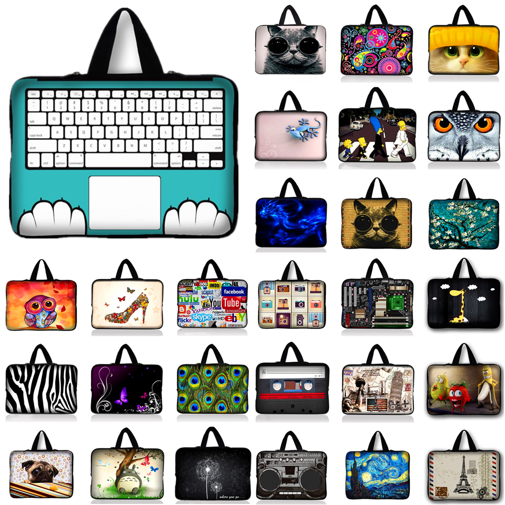 Impartial 10 11.6 12 13 13.3 15 15.4 15.6 17 17.4 Neoprene Laptop Bag Sleeve Case Cover For Notebook Computer Bag For Macbook Air #u