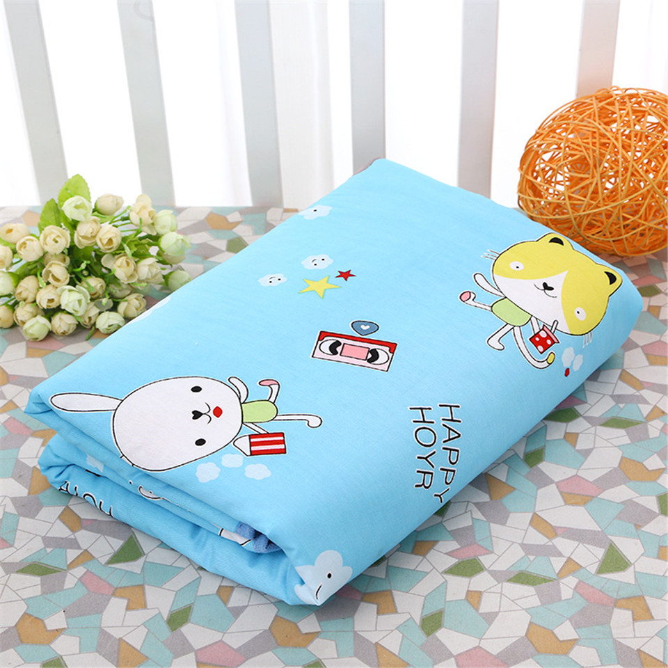 100X150cm Waterproof Baby Changing Mat Baby Diapers Changing Pad Baby Sheet Cover Urine Mat Play Mat Infant Bedding Cotton