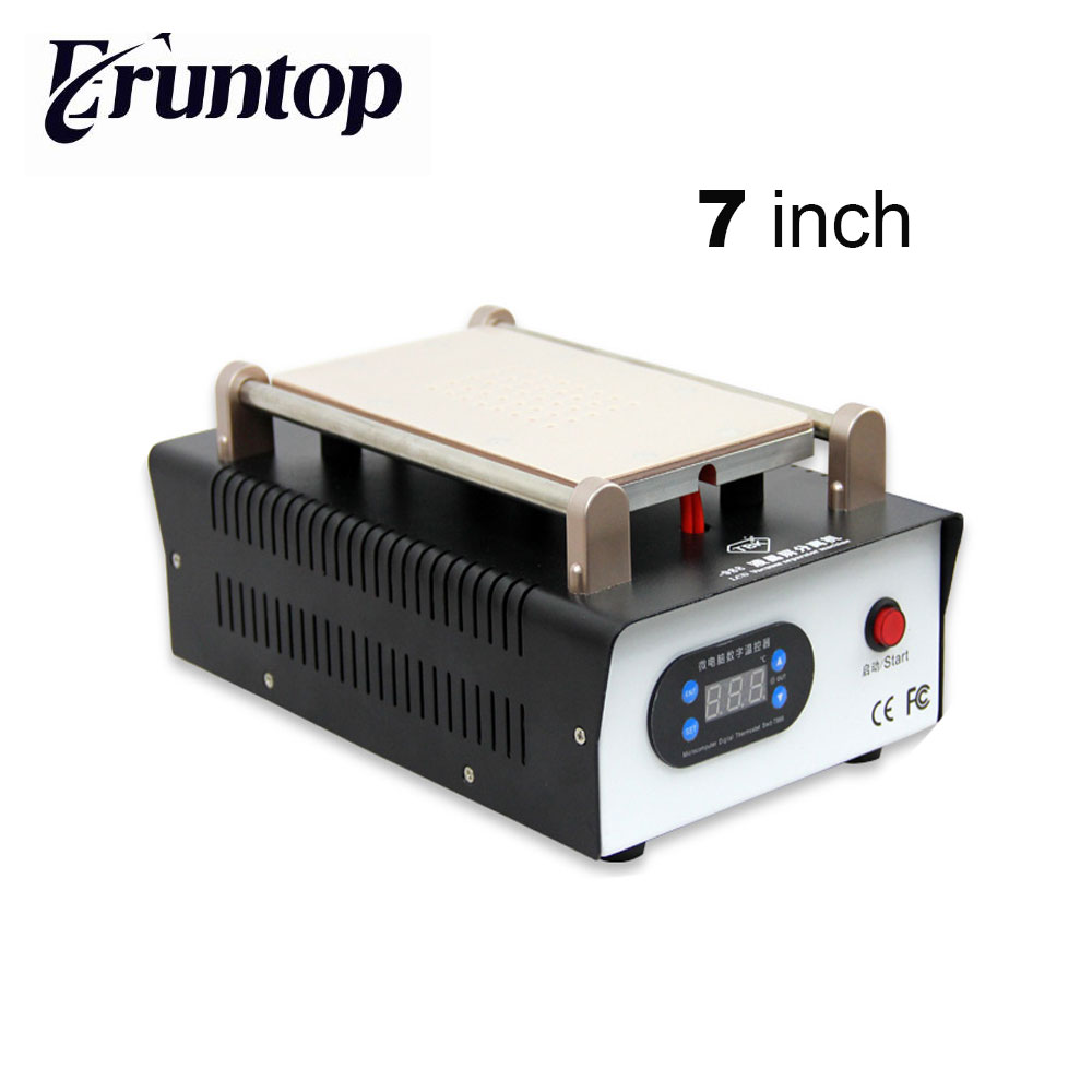 High Quality TBK  7 inch 12 inch Vacuum Metal Body LCD Screen Manual Separator for MobilePhone Tablet PC Glass Separating built in air vacuum pump ko semi automatic lcd separator machine for separating assembly split lcd ts ouch screen glas