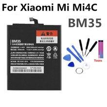 BM35 Mobile Phone Battery For Xiaomi Mi Mi4c Real Capacity 3080mAh Replacement Li-ion
