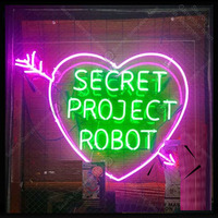 Neon Sign for Secret Project Robot with Heart decor Home Bedroom Display Beer Express Neon Light up wall sign Handicraft Store