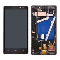 Full LCD Display Touch Screen Digitizer Assembly With Frame For Nokia Lumia 930 Free Shipping