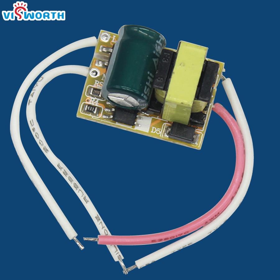 3*1W LED driver LED Transformer LED lamp driver input 85-265V high power 1w/5730 driver high quality free shipping
