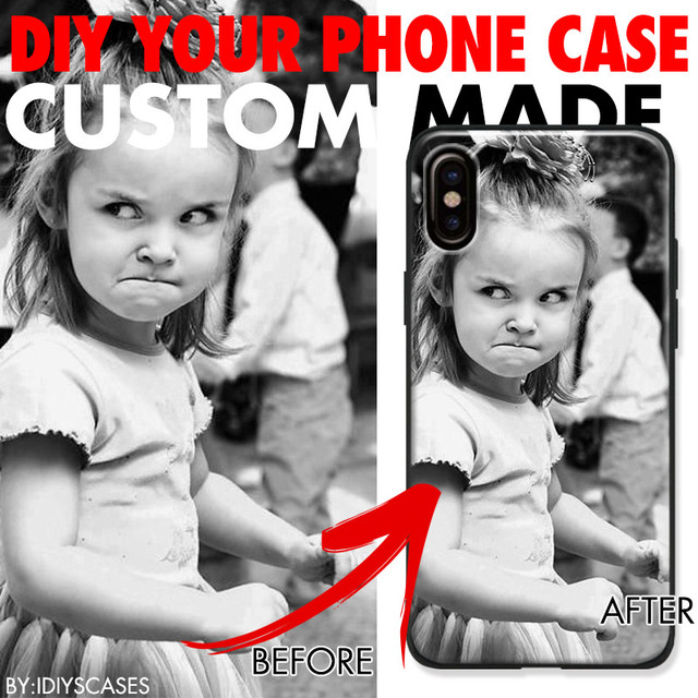 DIY Pattern images Customized picture Custom made Photo Silicone Phone Case For Apple iPhone X XS max XR 7 8 Plus 6S Plus 6 5S