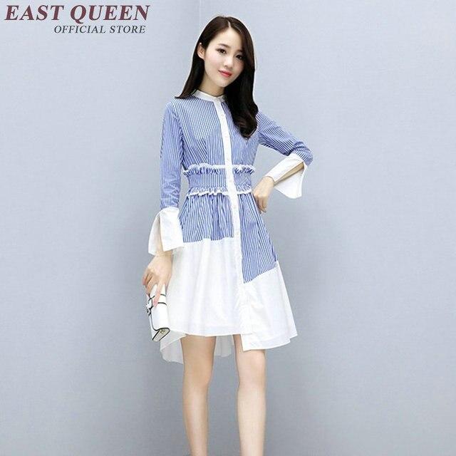Korean fashion clothing dress kawaii clothing ladies elegant irregular  autumn dresses women 2018 NN0979 C 3572dbdf5a1