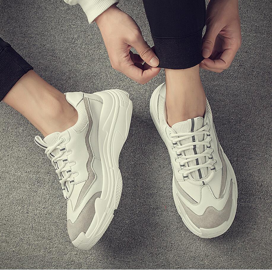 US $38.0 |2018 New spring Men's shoes personality Casual Shoes Lightweight sneakers Breathable Slip on High bottom Casual Shoes in Men's Casual Shoes