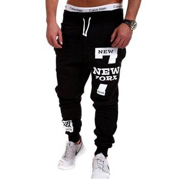 Mens Joggers 2018 Brand Male Trousers Men Pants Casual Solid Alphanumeric printing Pants Men's Sweatpants Jogger Large Size XXXL 4