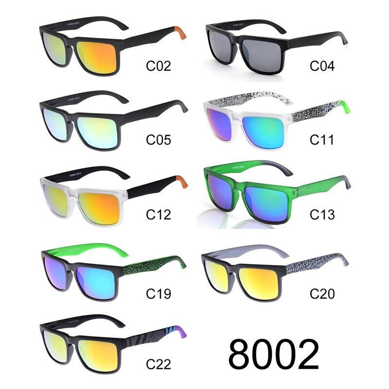 Ken Block espionné lunettes de soleil hommes lunettes de soleil lecteur revêtement réfléchissant carré espionné femmes gafas de sol de los hombres zonnebril heren