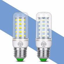 LED Lamp E27 E14 Bulb 220V Energy saving Corn 24 36 48 56 69 72LEDS Lampada Lights For home SMD5730 Lighting