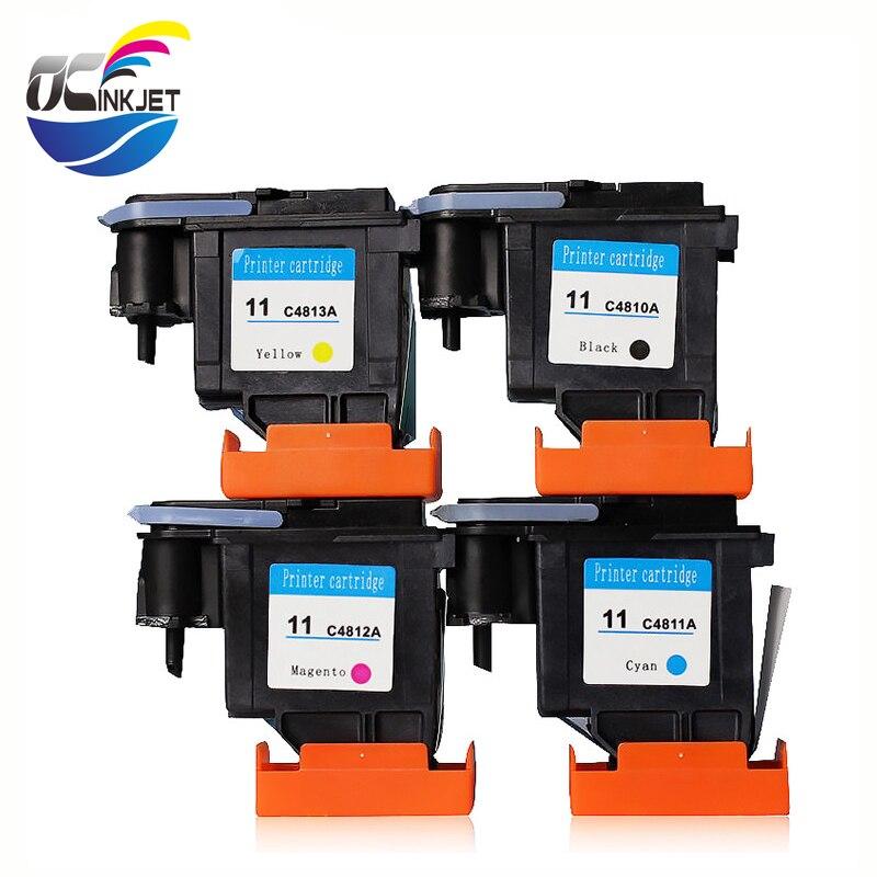 OCINKJET Printer Part For HP 11 Refurbished Printhead C4811A C4812A C4813A For HP Designjet 100 110 111 500 800 510 820 1000