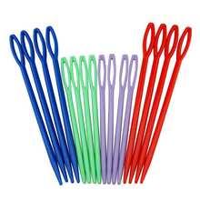 32 шт./лот 7 см/9 см пластиковые вязальные крючки для вязания гобелен шерсть спицы для пряжи детей DIY свитер инструменты для плетения
