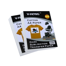 birthday party clothing design A4 specification T-shirt cotton sublimation transfer pape