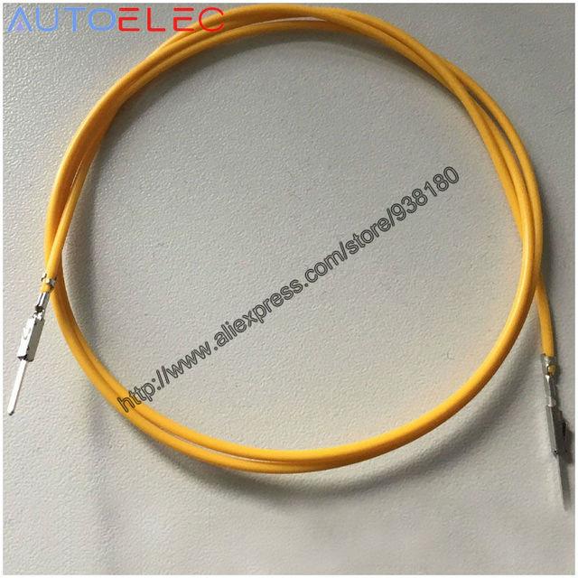 2pcs repair wire 000979012e quadlock mqs male vw audi seat 000 979 012e  golf passat automotive wiring harness for adapter