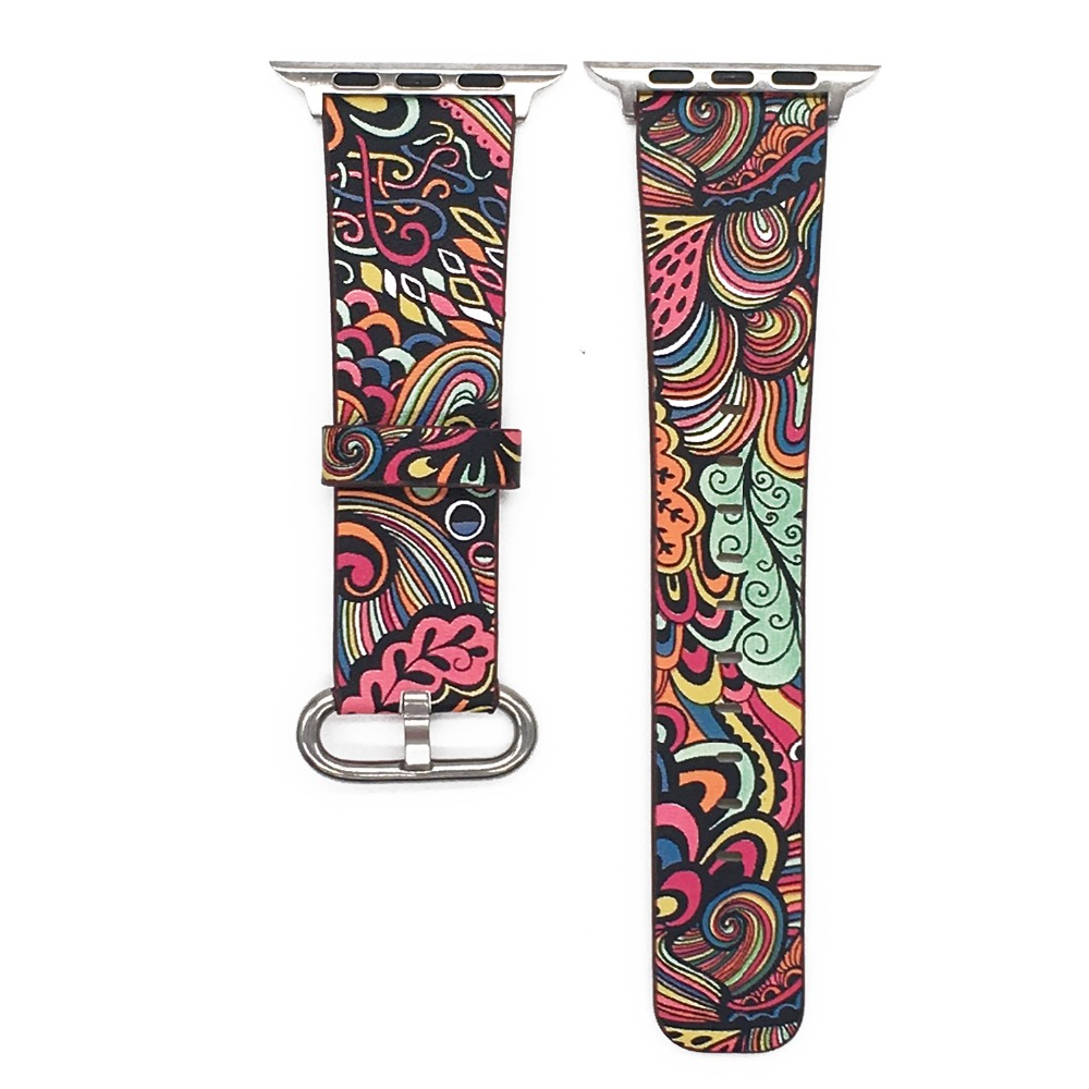 Floral Print Band for Apple Watch 29