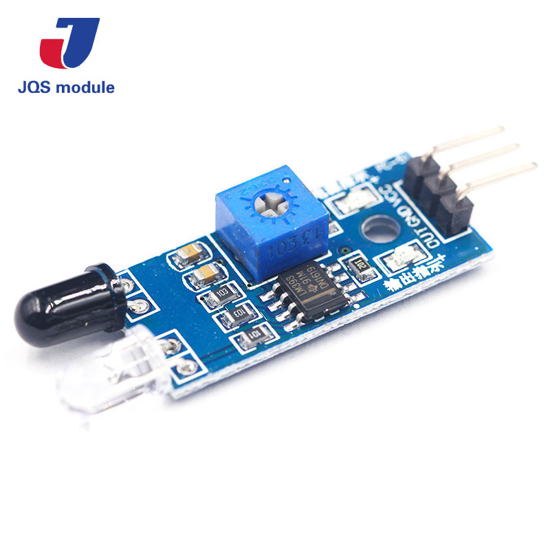 цена на Smart Electronics New for Arduino Diy Smart Car Robot Reflective Photoelectric 3pin IR Infrared Obstacle Avoidance Sensor Module