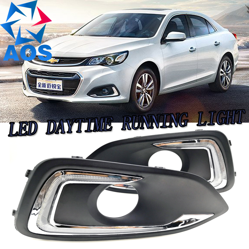 2PCs/set LED Car DRL Waterproof Daytime Running Lights Led