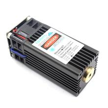 oxlasers High Power 15W DIY Laser Head TTL 450nm Blue Laser Module for CNC Engraving Cut Plywood and Engrave on Stainless STEEL