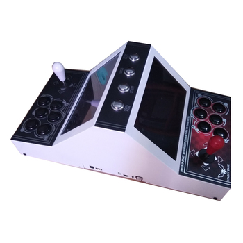 Pandora box 6 Arcade Rocker console With Double arcade Joysticks mutli games 1300 in 1 for 2 players video game console цена 2017