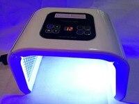 4 цвета ФДТ светодиодный свет терапия машина Уход за кожей лица омоложения кожи затянуть удалить Acne морщин светодиодный лица Красота спа pdt