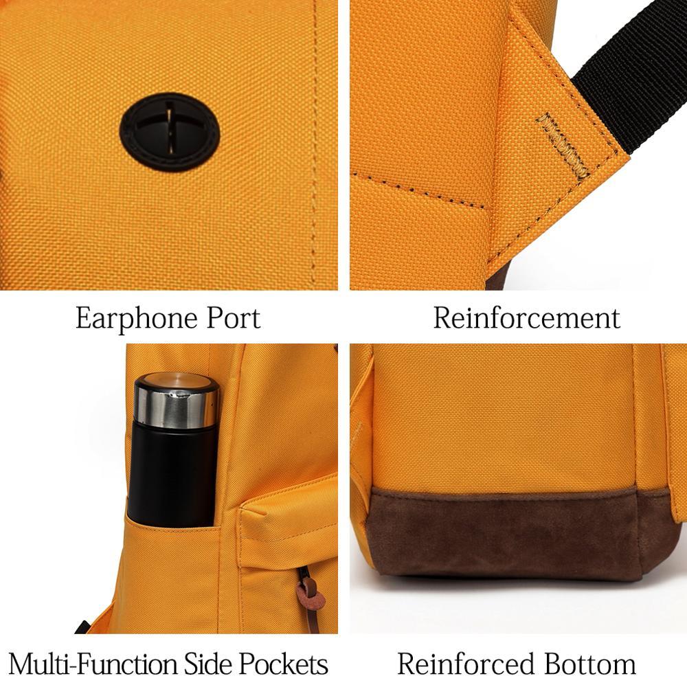 VASCHY Mochila Escolar Water Resistant Rucksack Teenage School Bag 4